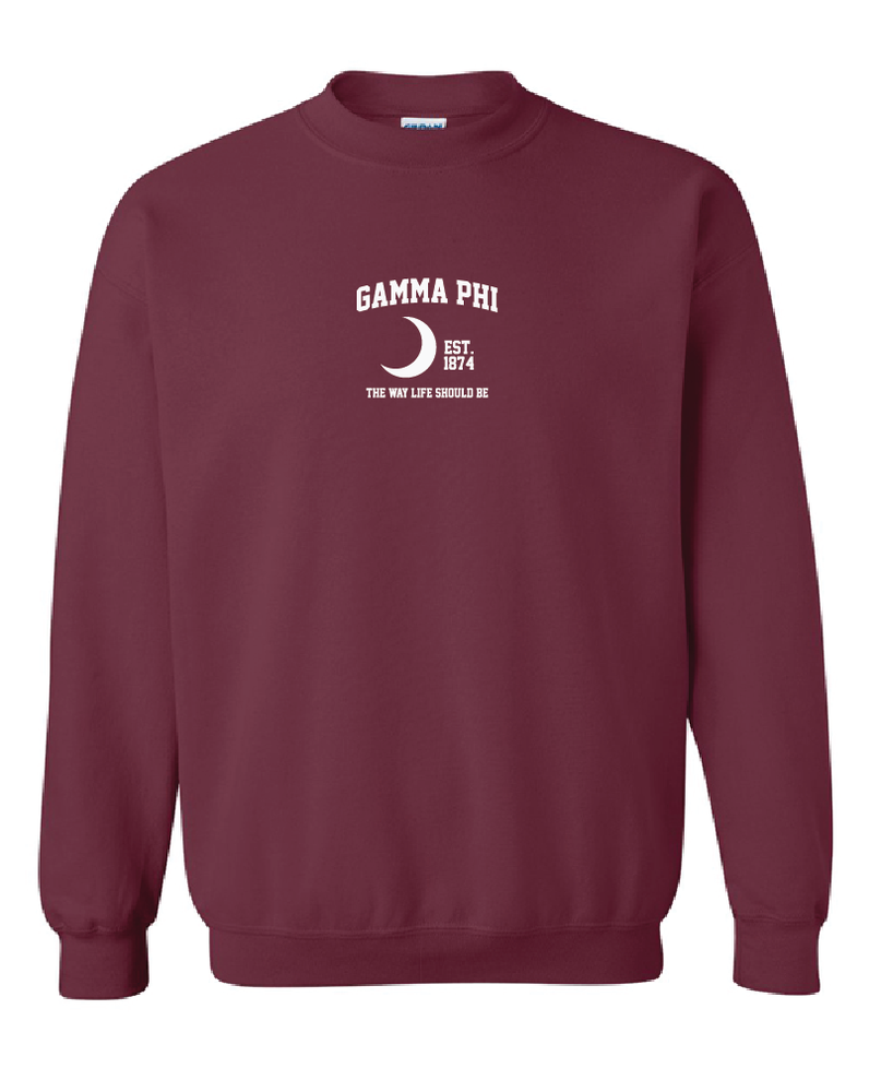 0972ae6e Gamma Phi Beta | Embroidered Mascot Crews